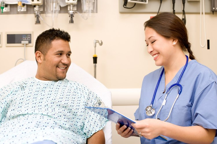 Los enfermeros deben usar ropas cómodas.