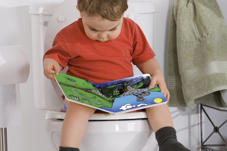 Cuando tu pequeño está listo para pasar a la gran bacinica, puedes incluso encontrar un asiento de baño orgánico.
