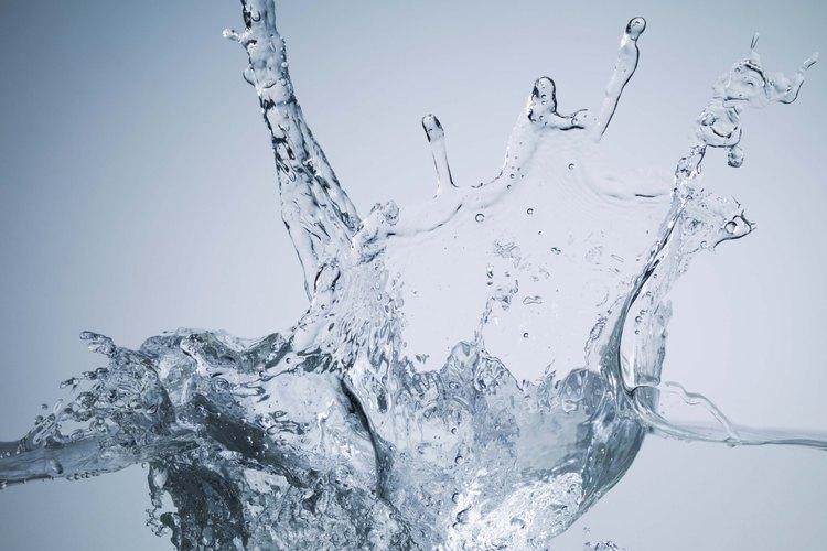 Es importante que el agua esté limpia y pura.