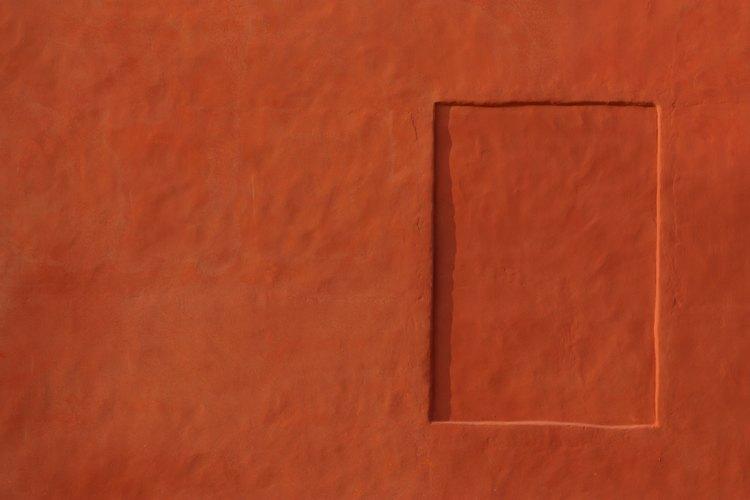 El color terracota se presta fácilmente a una decoración del sudoeste o de tema del Medio Oriente.