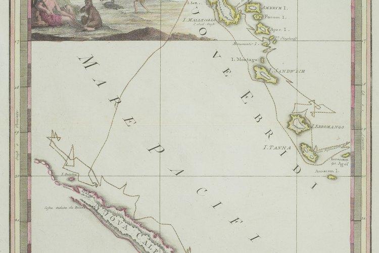 Francia tomó control de Nueva Caledonia en 1853.