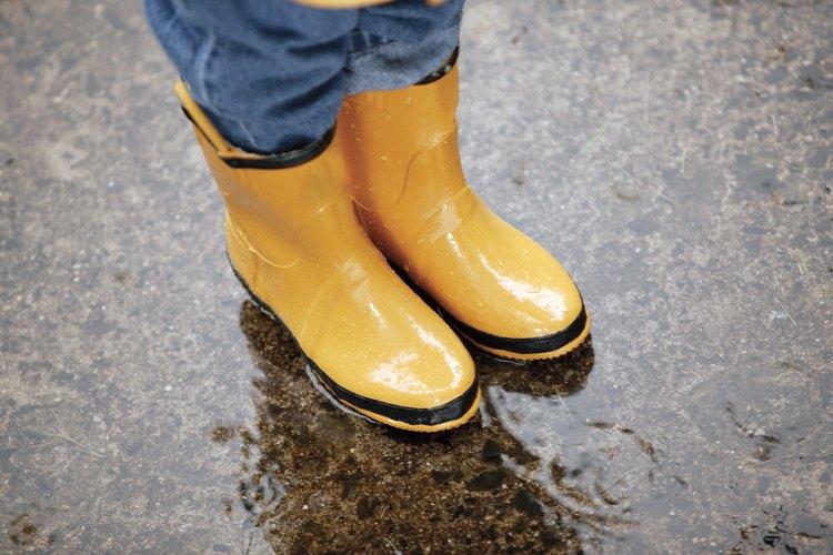 Mantienen tus pies calientes y secos.