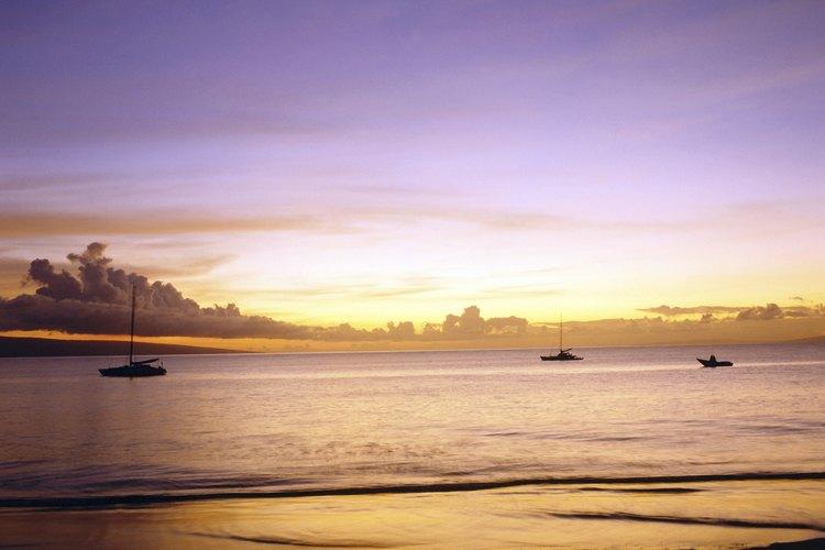 Siete de los sitios de caminata están en la playa.