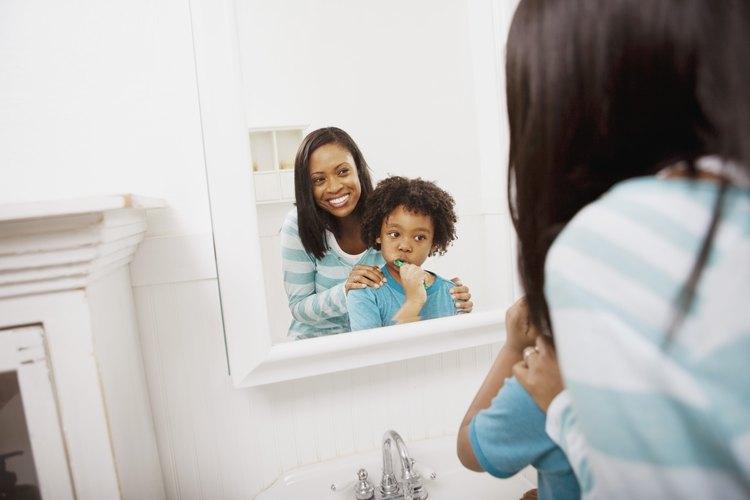 Son las 8 am ¡momento de cepillarse los dientes!