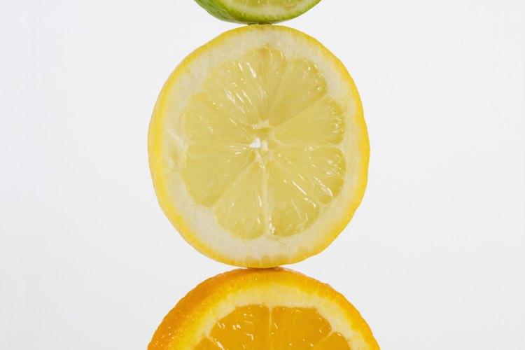 Frutas cítricas.