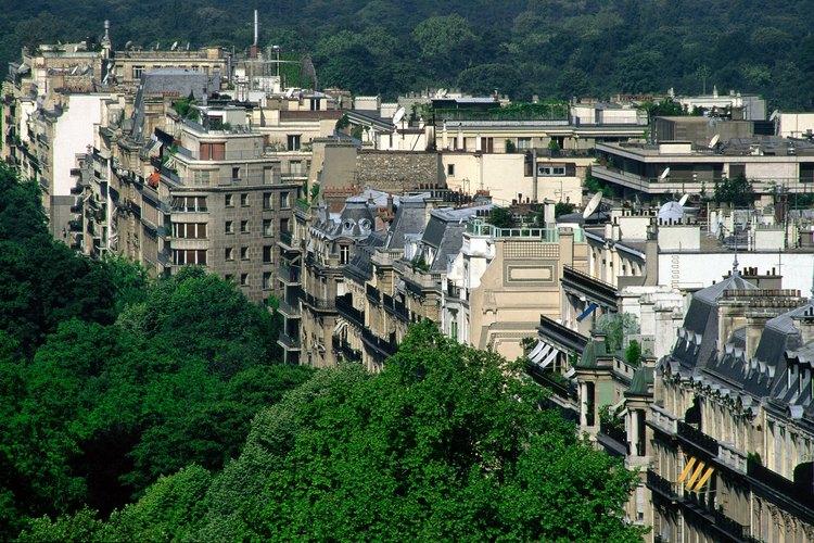 Los techos de poca pendiente son utilizados en todo el mundo.