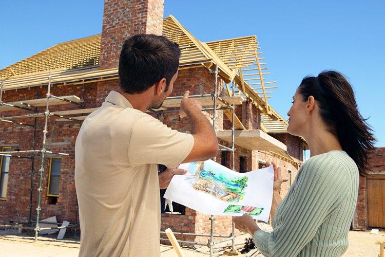 Construir una casa puede ser gratificante.