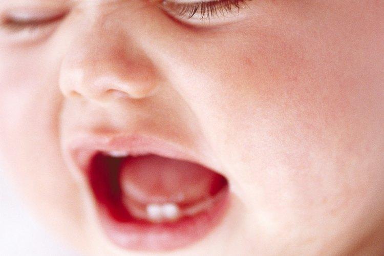 La dentición es un proceso doloroso para muchos bebés.