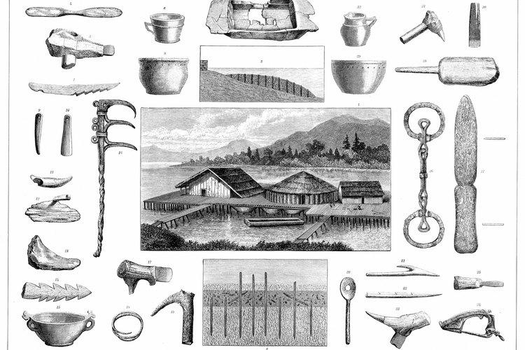 En el 1000 AC el conocimiento sobre cómo hacer armas de hierro era generalizado.