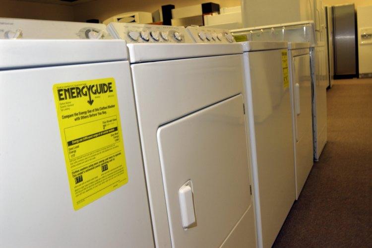 """Secadores que utilizan """"Energy Guide"""" de Energy Star pueden tener temperaturas máximas más bajas."""