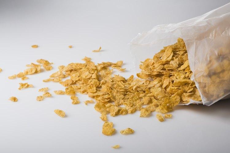 Bolsa plástica para cereales.
