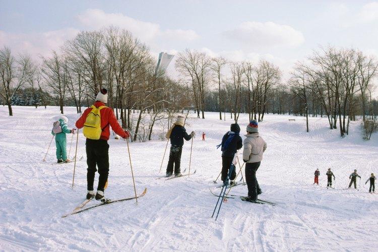 Cómo esquiar en el monte Hunter en Nueva York.