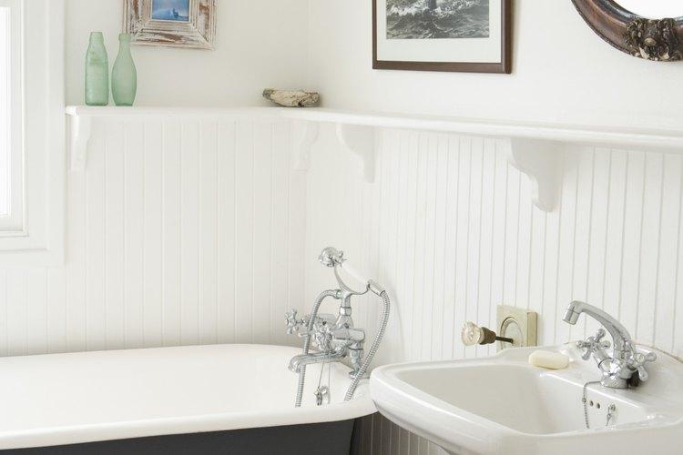 Puedes modernizar tu baño con solo cambiar el lavamanos.