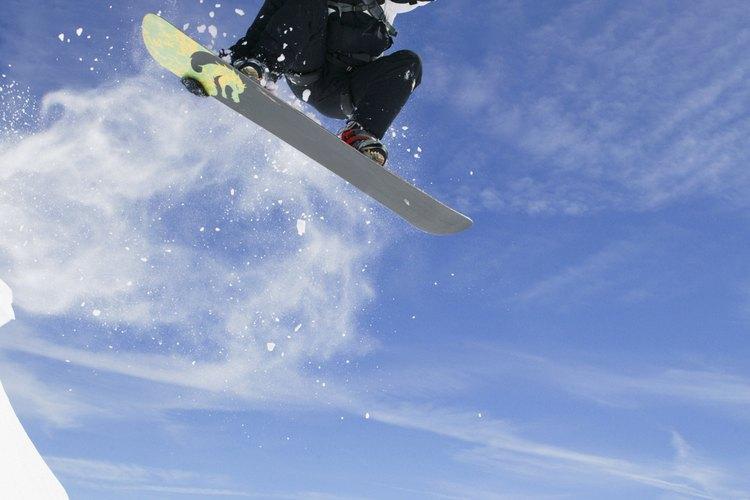 Whiteface, en el Adirondack State Park de Nueva York, es un lugar excelente para practicar snowboard.