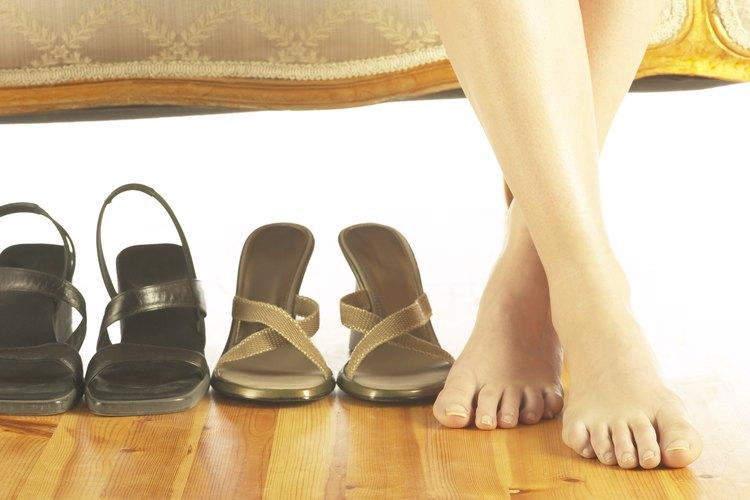 Algunos zapatos nuevos te dejarán su marca.