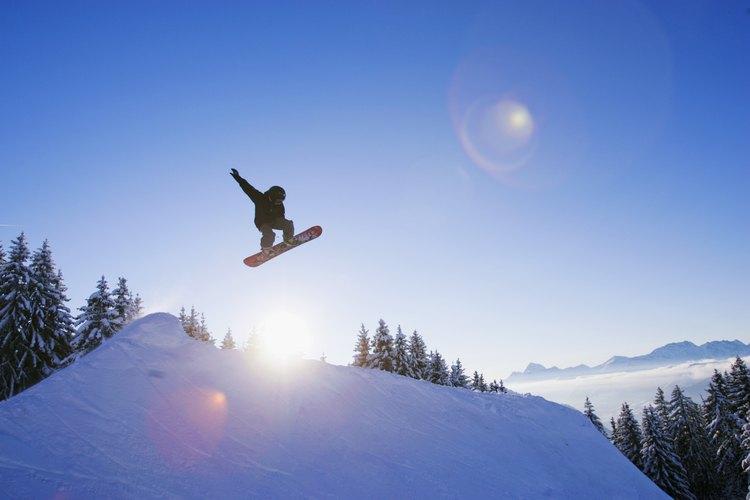 Puedes estar haciendo snowboarding en menos de una hora saliendo de Chicago.
