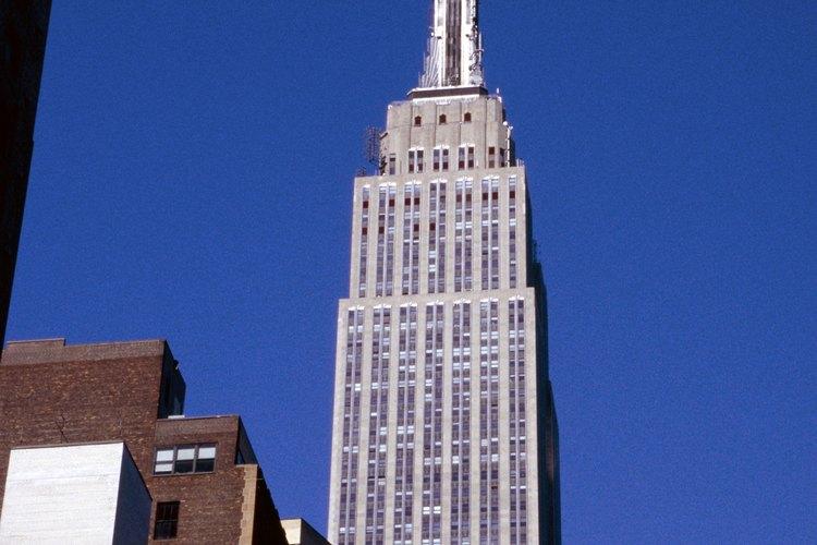 El edificio Empire State es una construcción icónica de Nueva York.