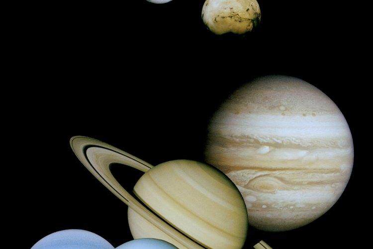 Nuestro sistema solar está compuesto de ocho planetas.