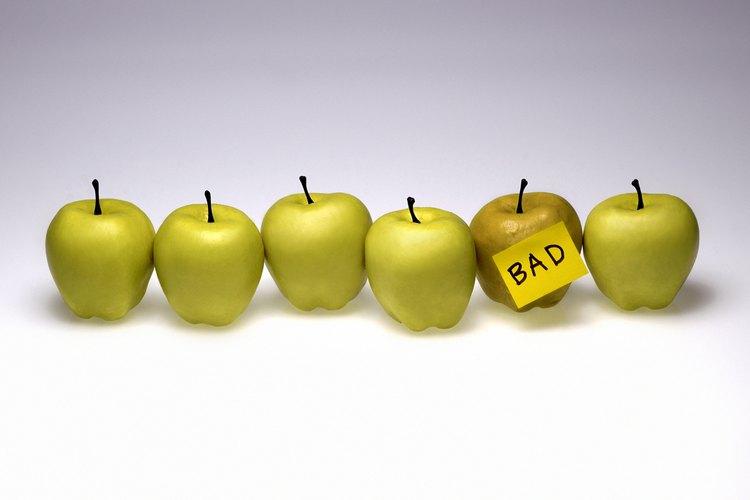 La pudrición es el resultado natural e inevitable del almacenamiento de la comida.