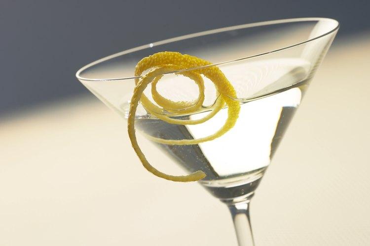 Martini seco con vodka.