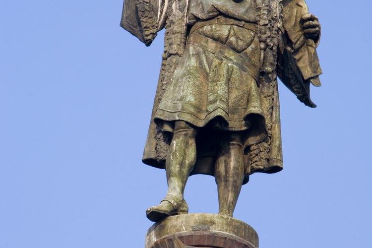 Cristóbal Colón fundó las primeras colonias españolas en el Nuevo Mundo.