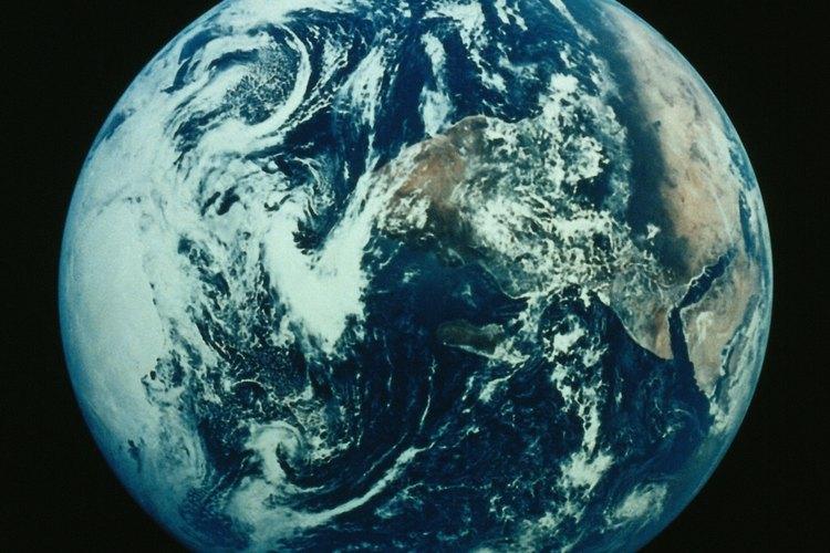 La tierra posee variedad de climas.
