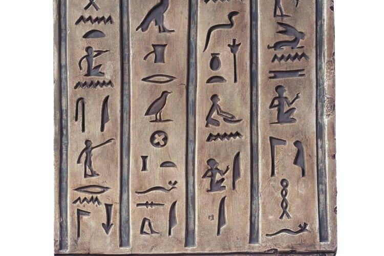 Introduce a tu hijo al arte de los jeroglíficos.