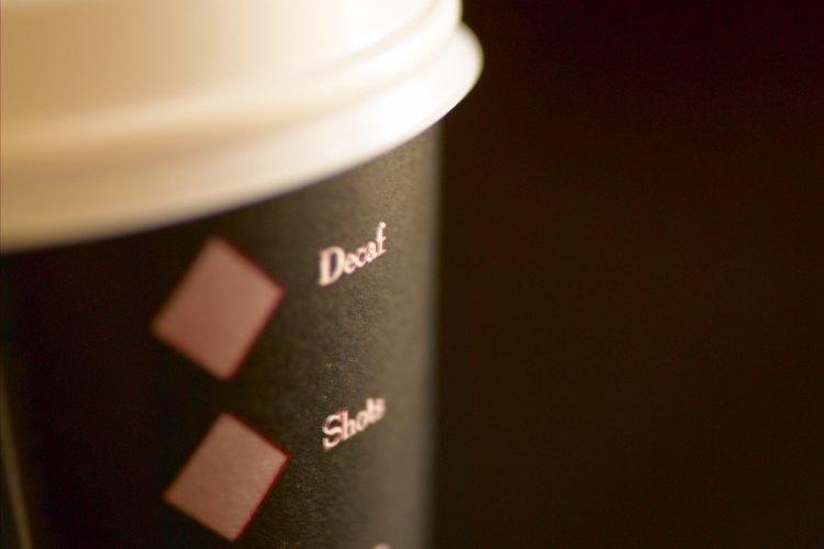Los vasos de café son un tipo común de vasos desechables.