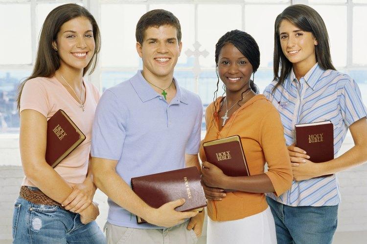 Muchos adolescentes encuentran inspiración en la Biblia.