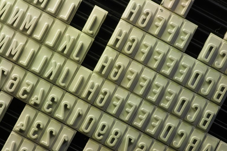 ¿Cuántos usos de caracteres alfanuméricos se te ocurren?