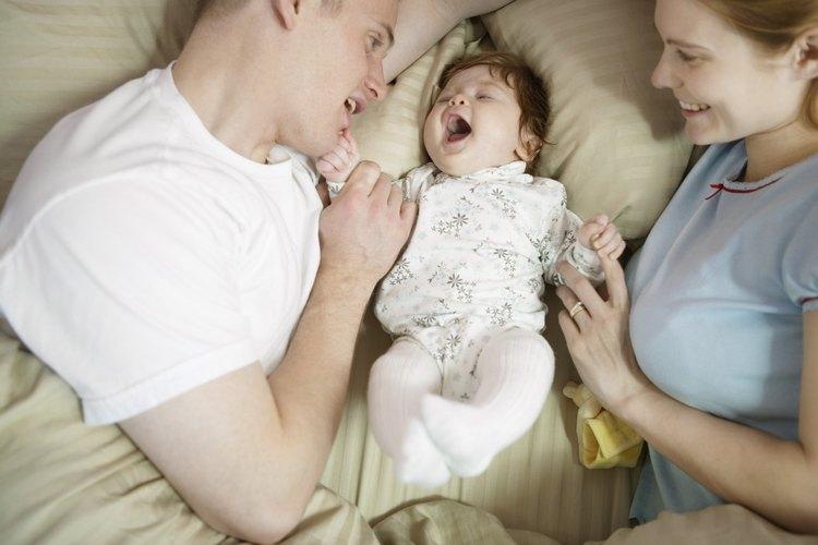 Los calambres en el estómago pueden causar un severo llanto en los recién nacidos.