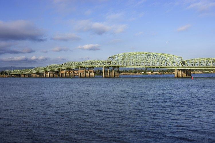 El río Columbia brinda excelentes oportunidades de pesca.