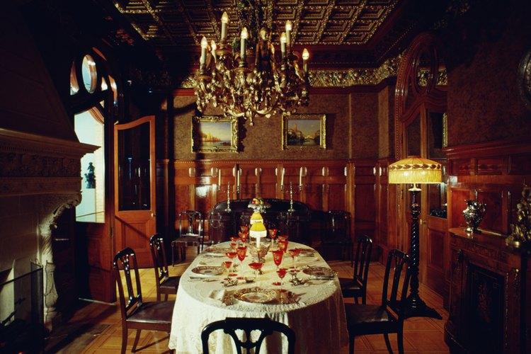 El estilo tradicional incorpora elementos de diseño muchas épocas.
