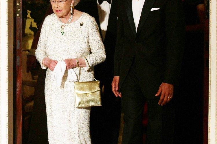 La Reina Elizabeth II con el presidente Barack Obama.