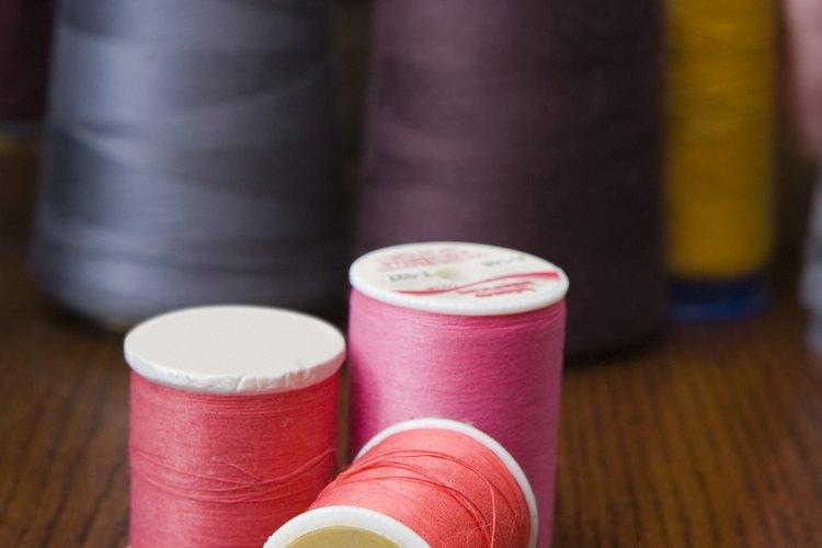 Puedes usar cualquier color o grosor de hilo que desees.