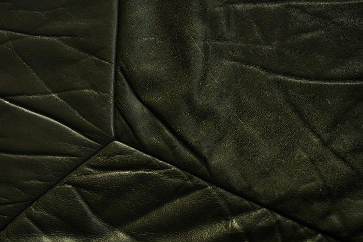 Cómo quitar manchas del cuero sintético.