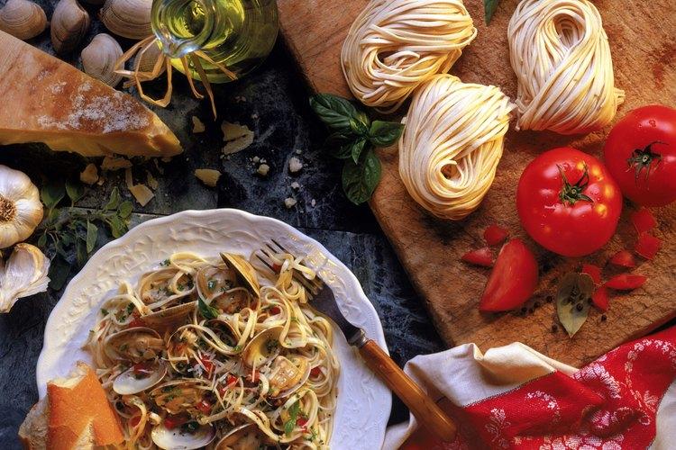Linguini y almejas