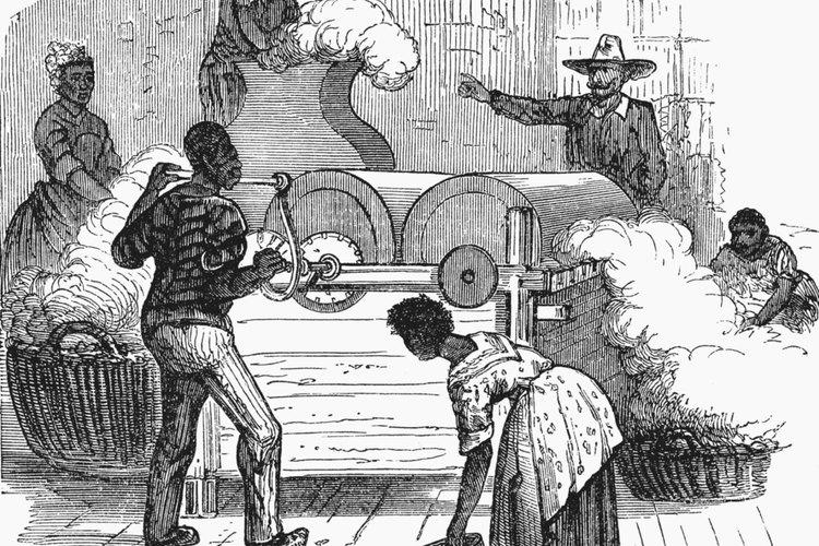 Una representación de los esclavos estadounidenses en 1860.