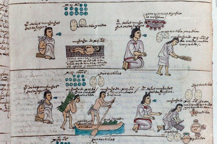 Se esperaba que todos los ciudadanos aztecas asistieran a la escuela.