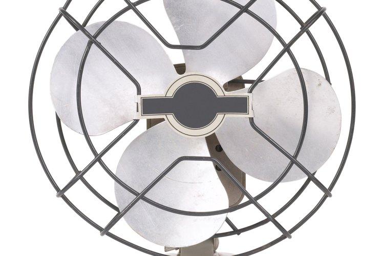 Apaga el interruptor de energía del ventilador.