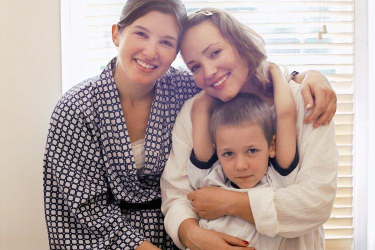 Las familias homoparentales sólo están reconocidas en algunos países.