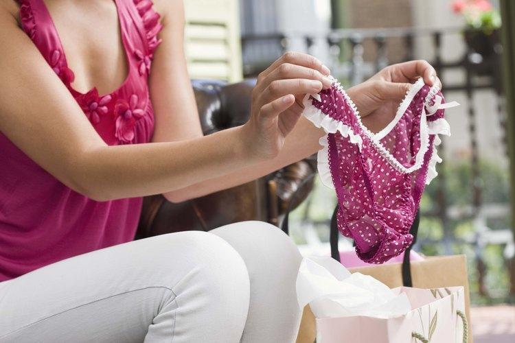 Fabrica tu propia ropa interior y ahorrarás tiempo y dinero.