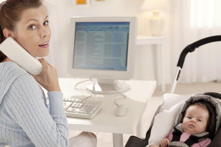 Trabajar y tener un recién nacido puede ser el máximo acto de malabarismo.