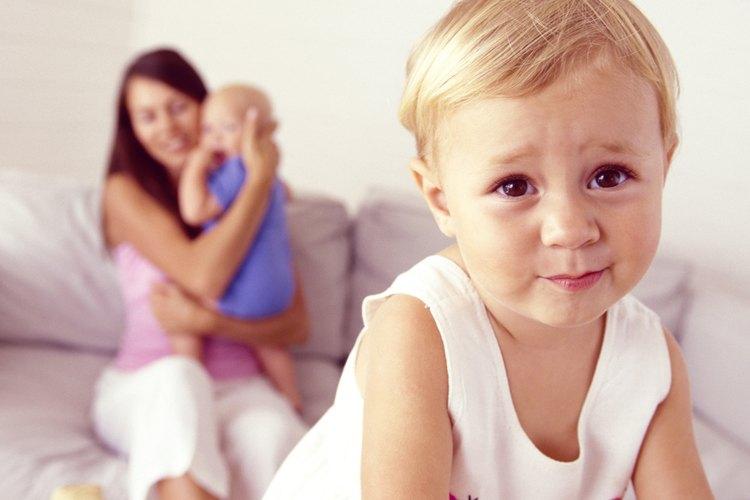 Tu niño puede sentirse excluido por una nueva llegada.