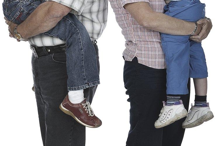 Conseguir la custodia de los nietos es algo que se hace a través de cuatro títulos de custodia diferentes.