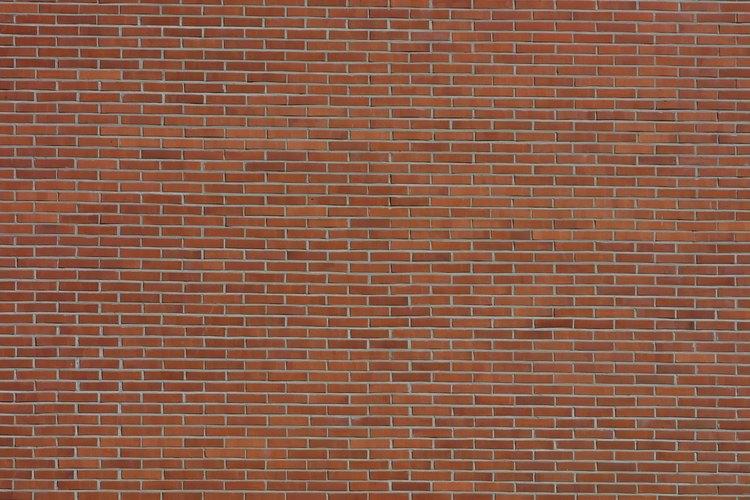 Una línea recta es importante cuando construyes una pared.