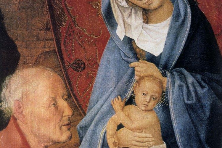 Los cristianos medievales veían a la Virgen María como la madre ideal.