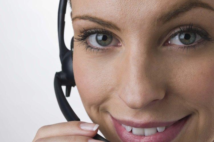 Las etiqueta de teléfono profesionales proporcionan a la empresa una reputación positiva.