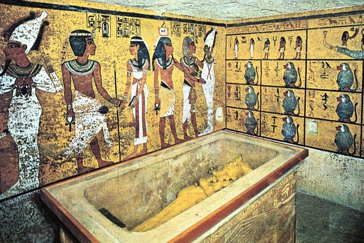 Faraones de finales del Imperio Nuevo fueron enterrados en tumbas como ésta.