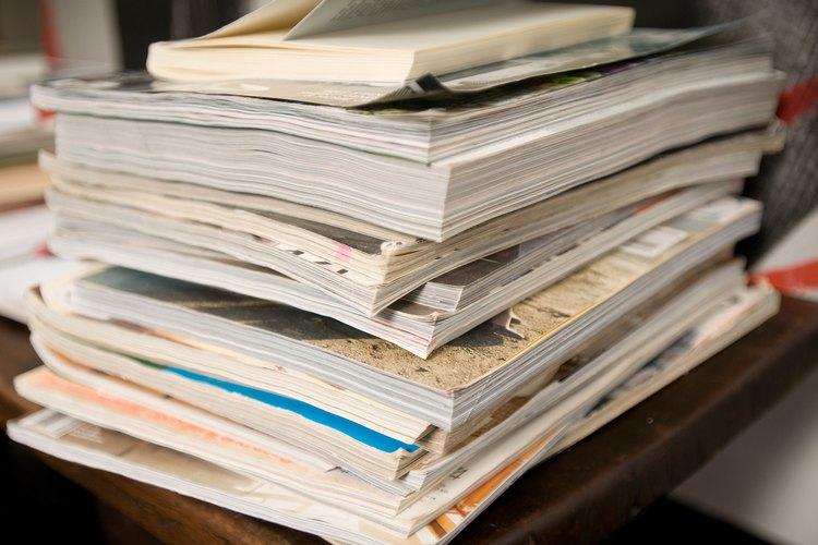 Cientos de revistas son publicadas siguiendo reglas de diseño.